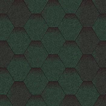 битумная-черепица-акваизол-мозаика-ЦВЕТ-зеленый-микс