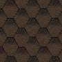 битумная-черепица-керабит-тройка-к+-ЦВЕТ-коричнево-черный