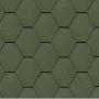 битумная-черепица-керабит-тройка-к+-ЦВЕТ-зеленый